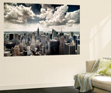 View of Manhattan, New York Wall Mural by Steve Kelley