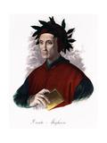 Portrait of Dante Alighieri Giclee Print by Stefano Bianchetti