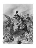 George Washington at the Battle of Princeton Giclee Print