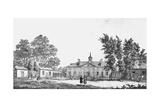 Exterior of George Washington's Estate Giclee Print