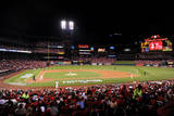 NLCS - San Francisco Giants v St Louis Cardinals - Game One Photographic Print by Michael Thomas