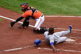 ALCS - Kansas City Royals v Baltimore Orioles - Game Two Photographic Print by Patrick Smith