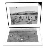 Vollyball & Football Practice Set Prints by Ansel Adams
