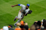 ALCS - Kansas City Royals v Baltimore Orioles - Game Two Photographic Print by Mitchell Layton