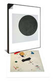 Black Circle, c.1920 & Suprematist Composition No.56, 1916 Set Poster by Kasimir Malevich