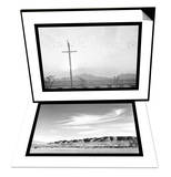 Birds on Wire & Landscape at Manzanar Set Posters by Ansel Adams
