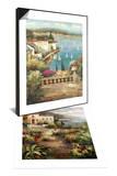 Ocean Garden & Villa's Garden Path Set Prints by Peter Bell