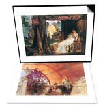 Antony and Cleopatra & Unconscious Rivals Set Prints by Sir Lawrence Alma-Tadema