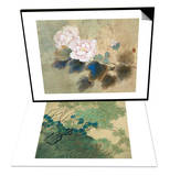 Hibiscuses & Chrysanthemums in Autumn Set Prints by Minrong Wu