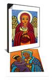 Guardian Angel & Madonna (Circles), 2010 Set Prints by Laura James