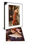 Thisbe' or 'The Listener', 1909 & Vanity (Vanitas) Set Posters by John William Waterhouse