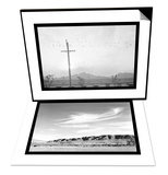Birds on Wire & Landscape at Manzanar Set Print by Ansel Adams