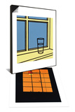 Untitled & Window at Night, 1969 Set Prints by Patrick Caulfield