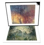 Colorful Autumn & Beautiful Winter Set Prints by Yunlan He