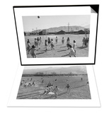 Vollyball & Football Practice Set Prints by Ansel Adams