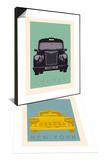 London - Cab I & New York - Cab Set Poster by Ben James