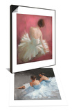 Ballerina Dreaming 1 & Dancers at Rest Set Prints by Patrick Mcgannon