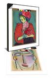 Girl with Peonies, 1909 & Meditation, 1918 Set Posters by Alexej Von Jawlensky