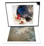 Plants by the Rocks & Aroma of Autumn Set Prints by Minrong Wu