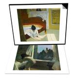 Summer Interior & Moonlight Interior Set Prints by Edward Hopper
