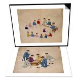 Classroom & Board Game Set Art by Kim Junkeun
