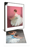 Ballerina Dreaming 2 & Dancers at Ease Set Print by Patrick Mcgannon
