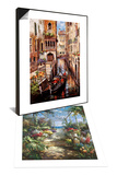 Italian Love Story & Tropical Breezeway Set Posters by James Lee