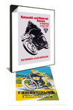 Automobile and Motorcycle Race, Munich & 4th Motorcycle Circuit of Tortona Set Prints