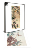 Birds and Flowers & Bamboo and Bird in the Wind Set Posters by Hsi-Tsun Chang