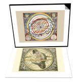 Orbium Planetarum Terram & Circulis Coelestibus Set Poster by Andreas Cellarius