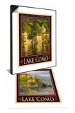 Lake Como Italy 1 & Lake Como Italy 2 Set Print by Anna Siena