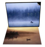 Moose Swimming in Bowron Lake Provincial Park & Fishing, Little Charlotte Lake, Canada Set Posters by Chris Harris