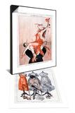 La Vie Parisienne, A Vallee, France & La Vie Parisienne, C Herouard, 1919, France Set Posters
