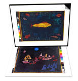 The Golden Fish, 1925 & Abfahrt Der Schiffe, 1927 Set Prints by Paul Klee
