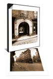 3 Rue des Lions, Hotel des Parlementaires & Angle des Rues de Seine, 1924 Set Prints by Eugène Atget