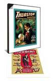 Thurston Great Magician: Do Spirits Come Back & Houdini: World's Handcuff King Set Prints