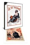 La Vie Parisienne, C Herouard, 1923, France & 1920s France La Vie Parisienne Magazine Plate Set Art