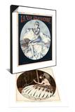 La Vie Parisienne, Cheri Herouard, 1924, France & La Vie Parisienne, A Vallee, 1918, France Set Posters