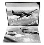 British RAF Hawker Hurricane & WWII British RAF Spitfires Set Prints