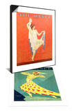 The Dance, Nitza Vernille, 1929, USA & The Dance, Albertina Vitak, 1929, USA Set Prints