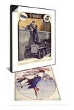 Daimler, Georges Leonnec, 1912, France & La Vie Parisienne, Leo Pontan, 1920, France Set Print