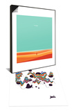 Where the Sea Meets Sky & Welcome to Mars Set Prints by Budi Kwan
