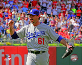 Josh Beckett celebrates his No Hitter against the Philadelphia Phillies at Citizens Bank Park on Ma Photo