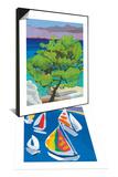 Pine Tree, 2010 & Morning Sail Set Prints by Sarah Gillard