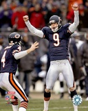 Robbie Gould - '06 / '07 NFC Divisional Playoff Game Photo