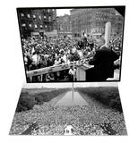 Malcolm X Harlem Rally & March on Washington Set Print by  Anonymous