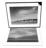 View South from Manzanar to Alabama Hills & View Sw over Manzanar, Dust Storm Set Print by Ansel Adams