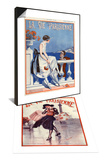 1920s France La Vie Parisienne Magazine Cover & 1920s France La Vie Parisienne Magazine Cover Set Prints