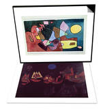 Dramatic Landscape, 1928 & Ships in the Dark, 1927 Set Prints by Paul Klee