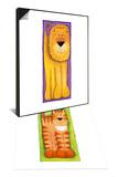 Leo & Ginger Set Art by Kate Mawdsley